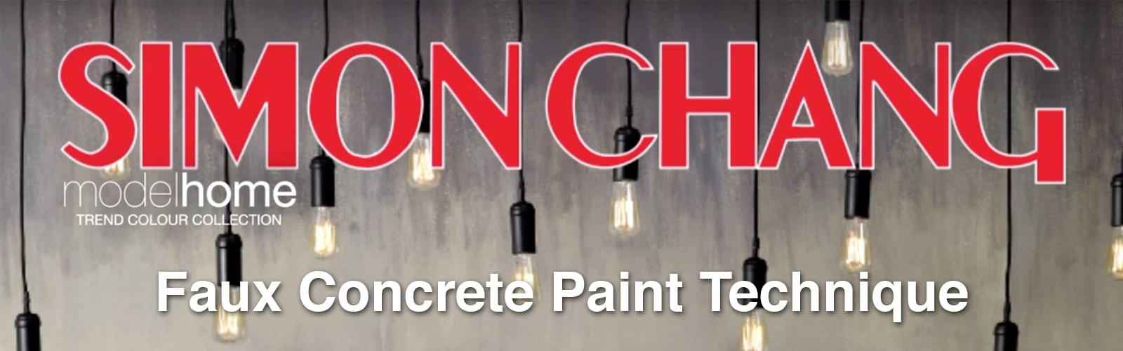 DIY Faux Concrete Paint Technique