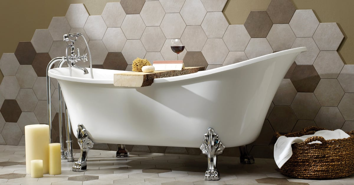 Here's How to Pick the Perfect Bathtub