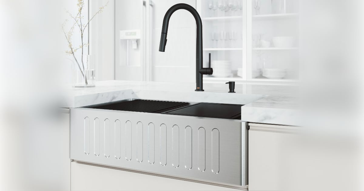 Here's How to Pick the Perfect Kitchen Sink
