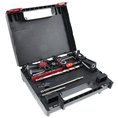 Complete Pocket Hole Kit Includes PocketJig100 and PocketJig200 Milescraft PocketJig200XJ