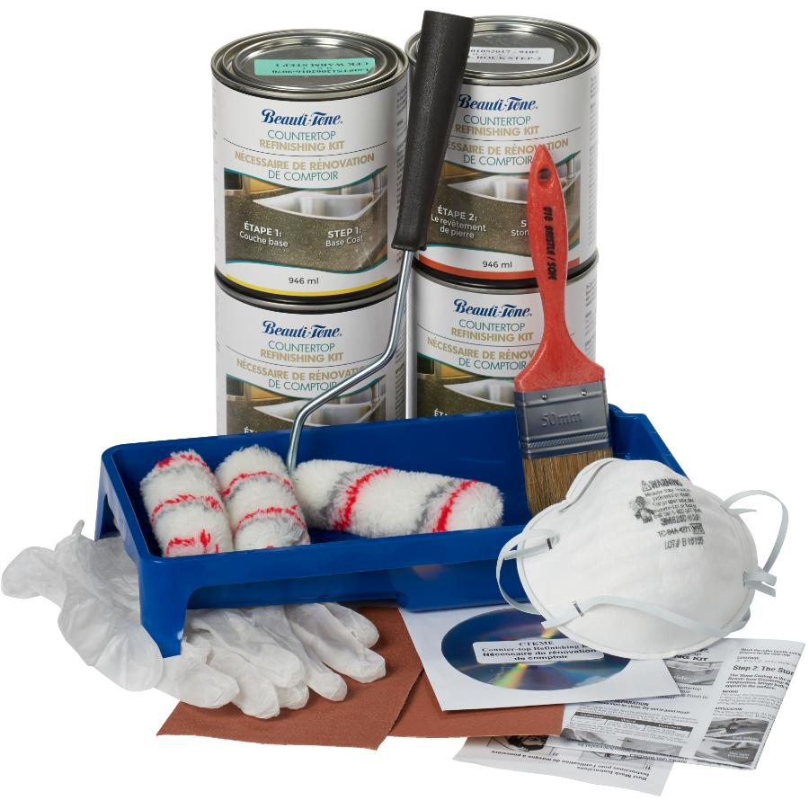 Beauti Tone Shell Rock Countertop Refinishing Kit