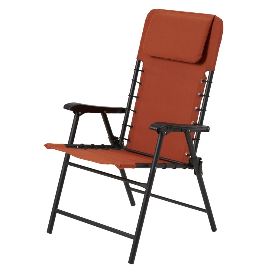 Astonishing Instyle Outdoor Potters Clay Orange Folding Bungee Chair Download Free Architecture Designs Rallybritishbridgeorg